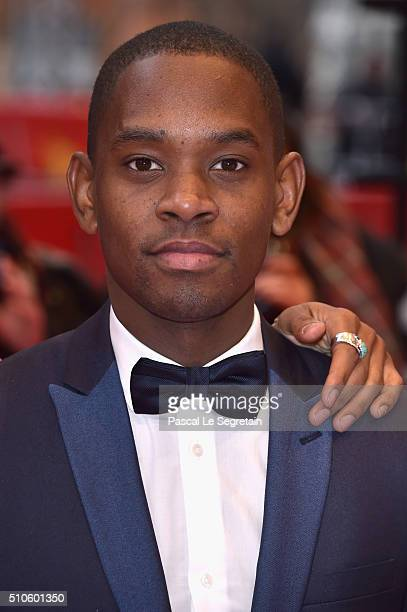 Actor Aml Ameen attends the 'Soy Nero' premiere during the 66th Berlinale International Film Festival Berlin at Berlinale Palace on February 16 2016...