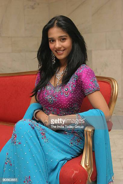 Actor Amrita Rao during launch of new Ezee Diamond s at Le Meriden Hotel New Delhi
