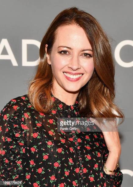 Actor Amy Acker attends the 'The Gifted' press junket during SCAD aTVfest 2019 at Four Seasons Hotel on February 8 2019 in Atlanta Georgia