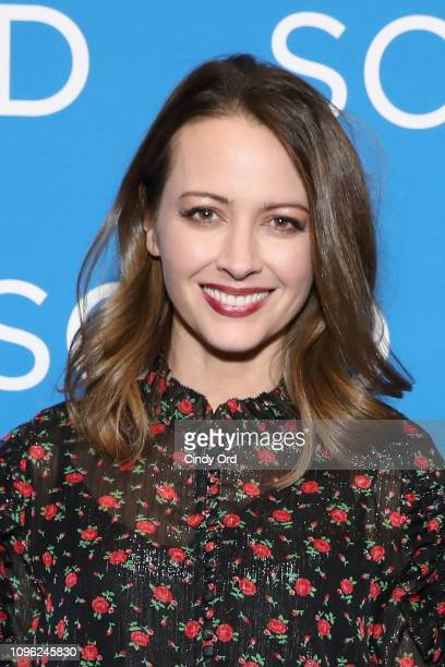 Actor Amy Acker attends the The Gifted screening during SCAD aTVfest 2019 at SCADshow on February 8 2019 in Atlanta Georgia