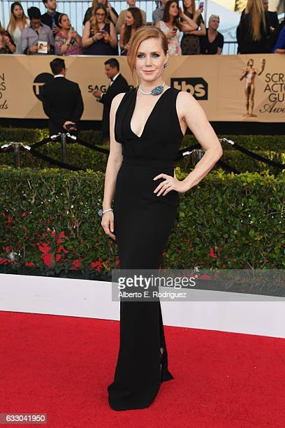 Actor Amy Adams attends the 23rd Annual Screen Actors Guild Awards at The Shrine Expo Hall on January 29 2017 in Los Angeles California