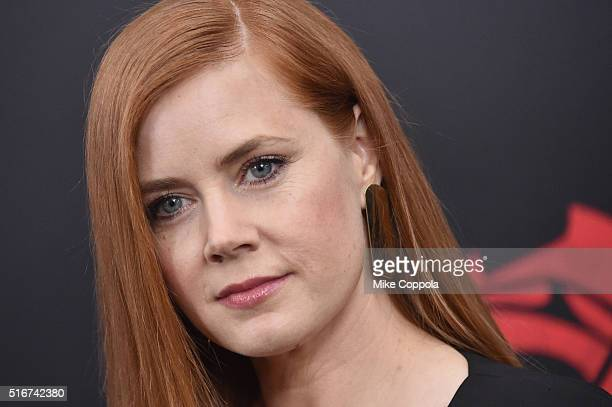 """Actor Amy Adams attends The """"Batman V Superman: Dawn Of Justice"""" New York Premiere at Radio City Music Hall on March 20, 2016 in New York City."""