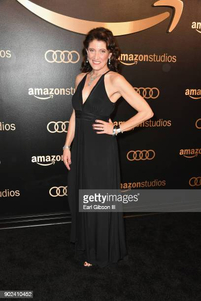 Actor Amy Aquino attends Amazon Studios' Golden Globes Celebration at The Beverly Hilton Hotel on January 7 2018 in Beverly Hills California