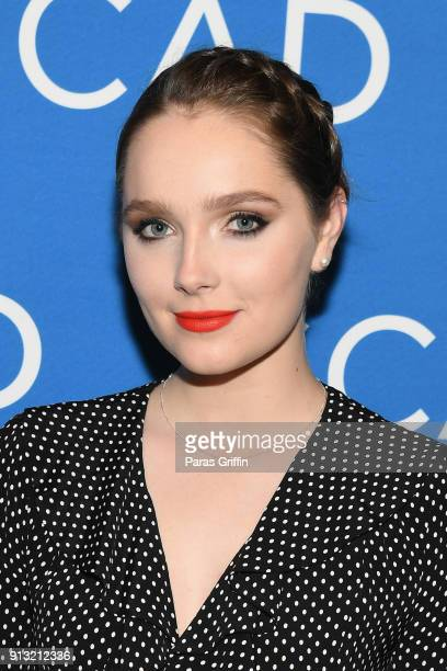 Actor Amy Forsyth attends a screening and QA for 'Rise' on Day 1 of the SCAD aTVfest 2018 on February 1 2018 in Atlanta Georgia