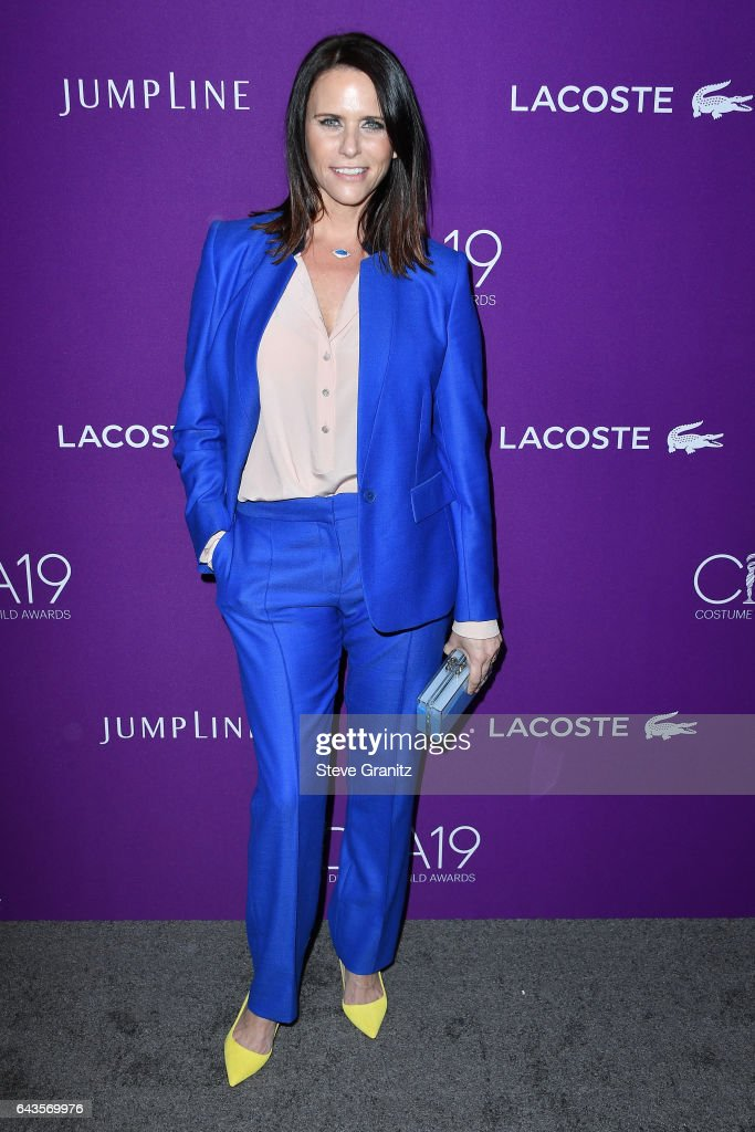 Actor Amy Landecker attends The 19th CDGA (Costume Designers Guild Awards) with Presenting Sponsor LACOSTE at The Beverly Hilton Hotel on February 21, 2017 in Beverly Hills, California.