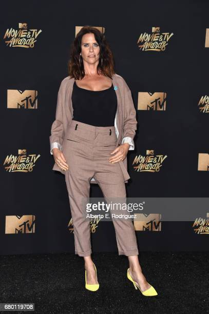 Actor Amy Landecker attends the 2017 MTV Movie And TV Awards at The Shrine Auditorium on May 7 2017 in Los Angeles California