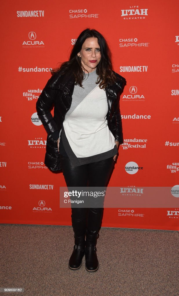 Actor Amy Landecker attends the 'A Kid Like Jake' Premiere during the 2018 Sundance Film Festival at Eccles Center Theatre on January 23, 2018 in Park City, Utah.