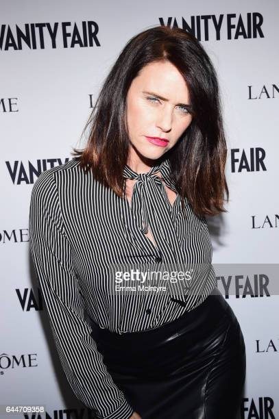 49b37943efae Actor Amy Landecker attends Vanity Fair and Lancome Toast to The Hollywood  Issue at Chateau Marmont