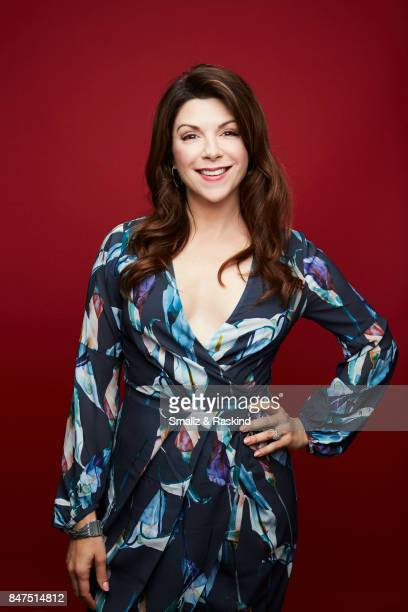 Actor Amy Pietz poses for portrait session at the 2017 Summer TCA session for Audience Network's 'Hit the Road' on July 25 2017 in Beverly Hills...