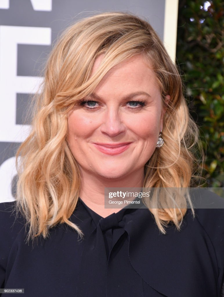 Actor Amy Poehler attends The 75th Annual Golden Globe Awards at The Beverly Hilton Hotel on January 7, 2018 in Beverly Hills, California.