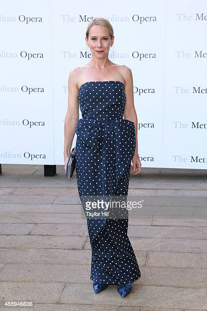 Actor Amy Ryan attends the season opening performace of The Marriage of Figaro at The Metropolitan Opera House on September 22 2014 in New York City