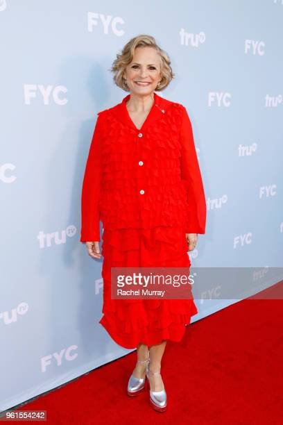 Actor Amy Sedaris attends the FYC Event for truTV's At Home with Amy Sedaris I'm Sorry at NeueHouse Hollywood on May 22 2018 in Los Angeles...