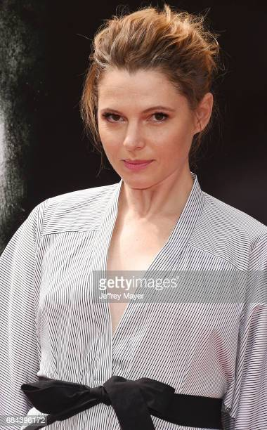 Actor Amy Seimetz attends the Sir Ridley Scott Hand and Footprint Ceremony at TCL Chinese Theatre IMAX on May 17 2017 in Hollywood California