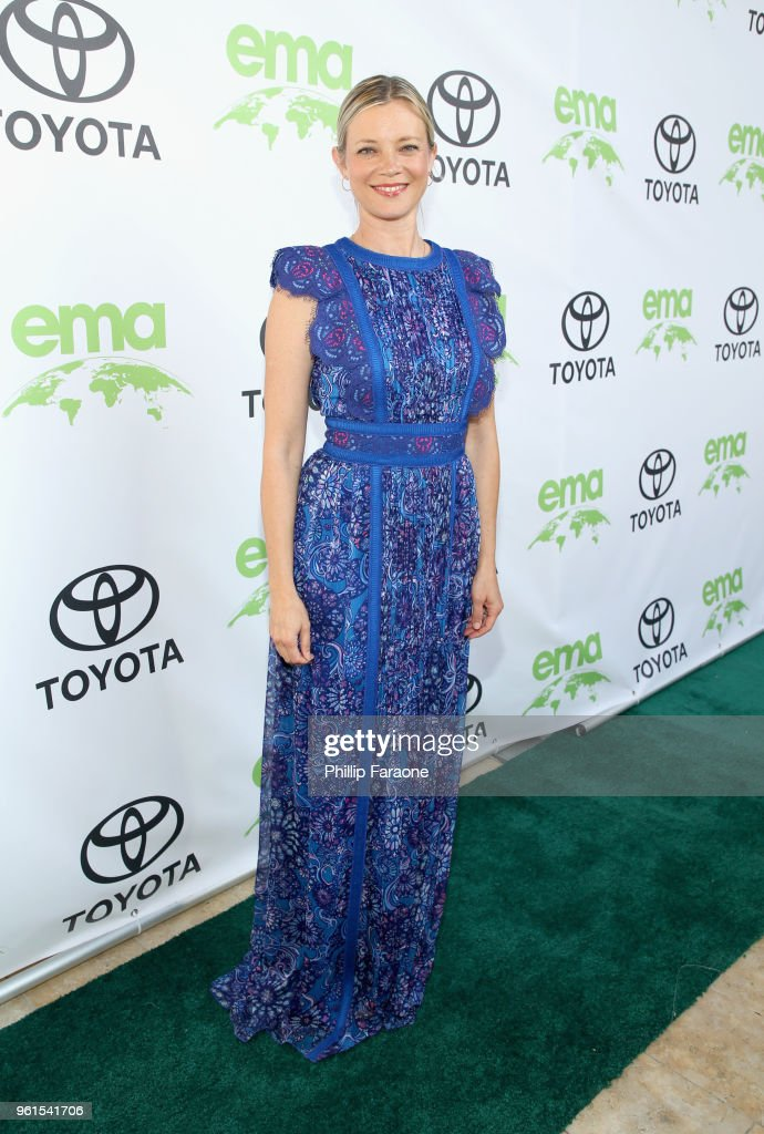 Actor Amy Smart Oosterhouse attends the 28th Annual Environmental Media Awards at Montage Beverly Hills on May 22, 2018 in Beverly Hills, California.