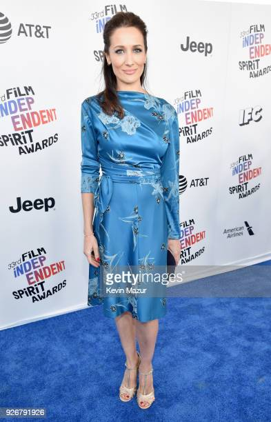 Actor Ana Asensio attends the 2018 Film Independent Spirit Awards on March 3 2018 in Santa Monica California