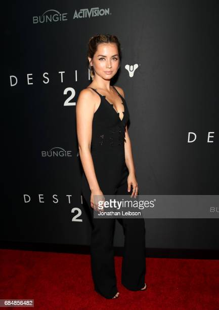 Actor Ana de Armas attends Activision And Bungie Celebrate The Gameplay World Premiere Of 'Destiny 2' at Jet Center Los Angeles on May 18 2017 in Los...