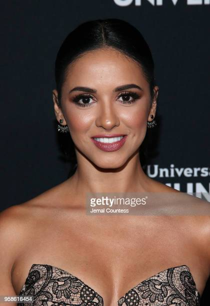 Actor Ana Jurka attends the 2018 Telemundo Upfront at the Park Avenue Armory on May 14 2018 in New York City