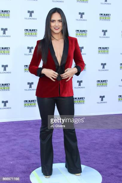 Actor Ana Lorena Sanchez attends The 2017 Latin American Music Awards at Dolby Theatre on October 26 2017 in Hollywood California