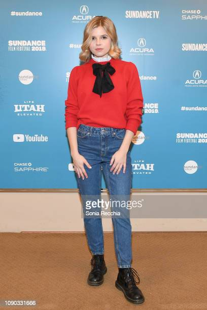 Actor Ana Mulvoy Ten attends the Selah And The Spades Premiere during the 2019 Sundance Film Festival at Egyptian Theatre on January 27 2019 in Park...