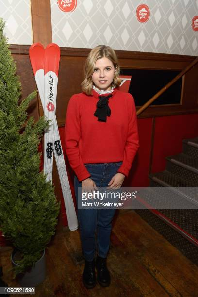 Actor Ana Mulvoy Ten of 'Selah And The Spades' attends the Pizza Hut Lounge during the 2019 Sundance Film Festival in Park City UT