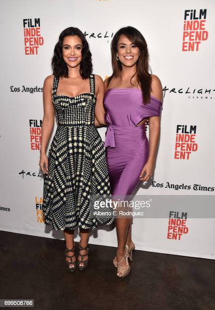 Actor Anabelle Acosta and Miss Guatemala 2016 Virginia Argueta attend the screening of Fat Camp during the 2017 Los Angeles Film Festival at ArcLight...