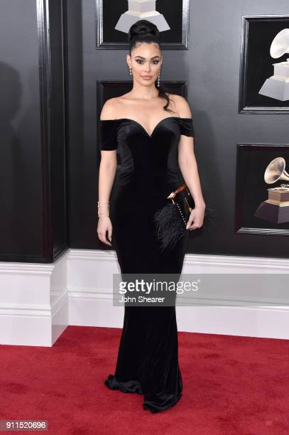 Actor Anabelle Acosta attends the 60th Annual GRAMMY Awards at Madison Square Garden on January 28 2018 in New York City