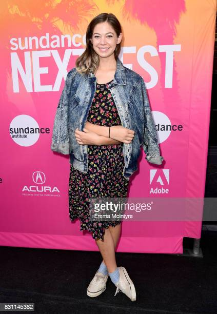 Actor Analeigh Tipton attends 2017 Sundance NEXT FEST at The Theater at The Ace Hotel on August 13 2017 in Los Angeles California