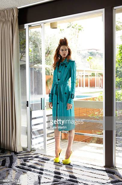 Actor Analeigh Tipton is photographed for Flaunt magazine on January 22 2012 in Los Angeles California