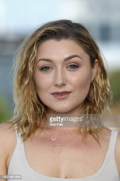 Actor Anastasia Baranova attends the #IMDboat At San Diego ComicCon 2018 Day One at The IMDb Yacht on July 19 2018 in San Diego California