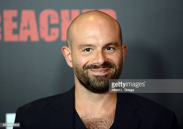 Actor Anatol Yusef arrives for the Premiere Of AMC's 'Preacher' held at Regal LA Live Stadium 14 on May 14 2016 in Los Angeles California