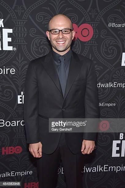 Actor Anatol Yusef attends the 'Boardwalk Empire' Season 5 Premiere at Ziegfeld Theatre on September 3 2014 in New York City