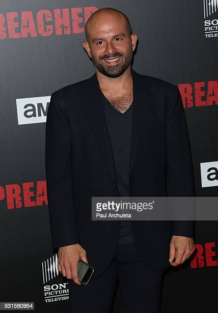 Actor Anatol Yusef attends the premiere of AMC's 'Preacher' at Regal LA Live Stadium 14 on May 14 2016 in Los Angeles California