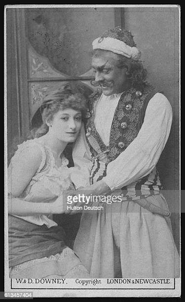 Actor and Actress in Ali Baba and the Forty Thieves
