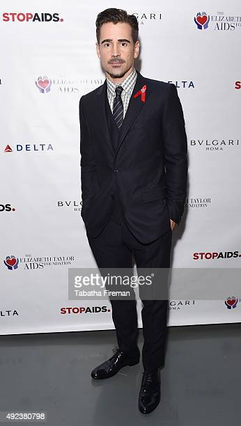 Actor and Ambassador to The Elizabeth Taylor AIDS Foundation Colin Farrell attends a press event to announce a new push to fasttrack the end of the...