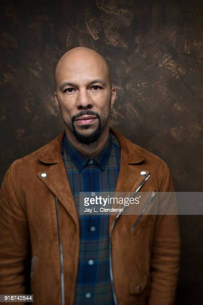 Actor and American Hiphop musician Common from the film 'The Tale' is photographed for Los Angeles Times on January 21 2018 in the LA Times Studio at...