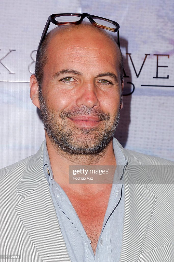 Actor and artist Billy Zane attends the artist's reception for Billy Zane's solo art exhibition 'Seize The Day Bed' on August 21, 2013 in Los Angeles, California.