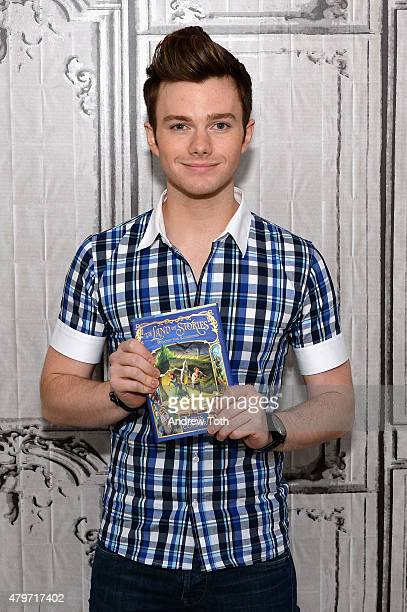 Actor and author Chris Colfer attends AOL Build Presents The Land of Stories Beyond the Kingdoms at AOL Studios In New York on July 6 2015 in New...