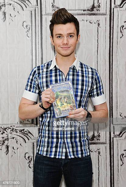 Actor and author Chris Colfer attends AOL Build to discuss his new book The Land of Stories Beyond the Kingdoms at AOL Studios In New York on July 6...