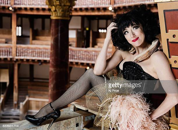 Actor and cabaret artist Meow Meow aka Melissa Madden Gray is photographed on April 9 2016 in London England