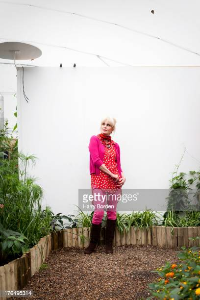 Actor and campaigner Joanna Lumley is photographed for the Observer on May 21, 2013 in London, England.