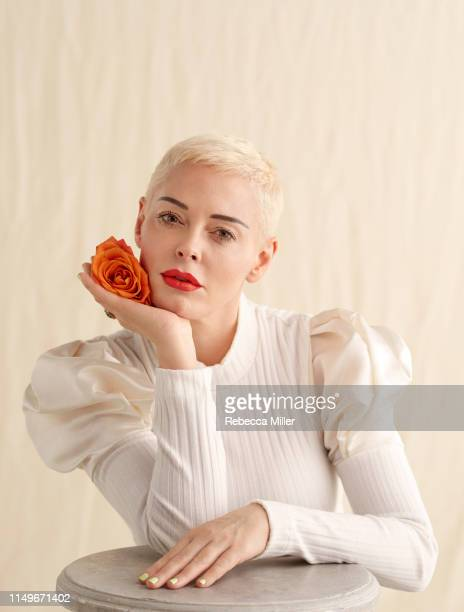 Actor and campaigner Rose McGowan is photographed for the Telegraph on February 7, 2019 in New York City.