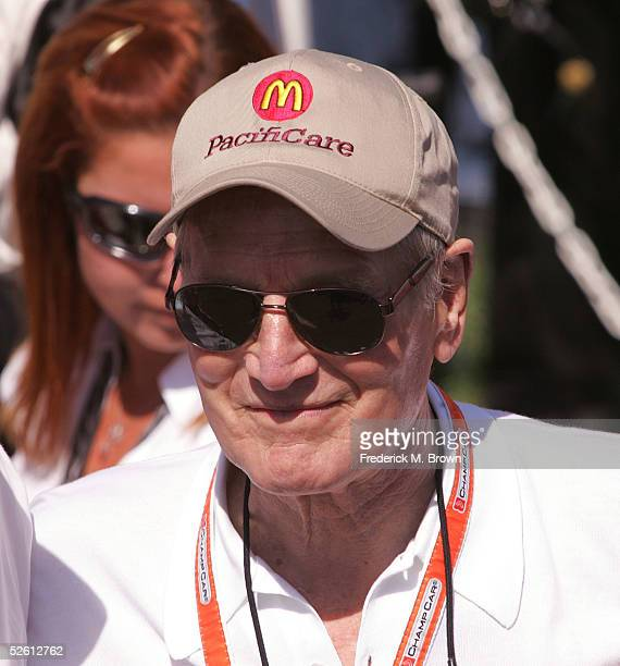 Actor and car owner Paul Newman attends the 29th Annual Toyota Grand Prix of Long Beach on April 10 2005 in Long Beach California