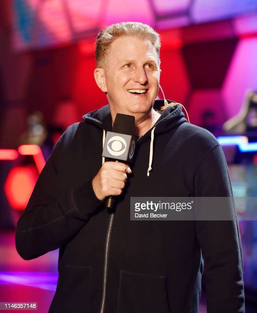 Actor and CBS commentator Michael Rapaport speaks ahead of the BIG3 Draft at the Luxor Hotel Casino on May 01 2019 in Las Vegas Nevada