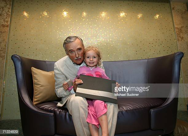 Actor and Chair of the Creative Advisory Board Dennis Hopper and his daughter Galen Grier Hopper pose with Allure at the CineVegas film festival...
