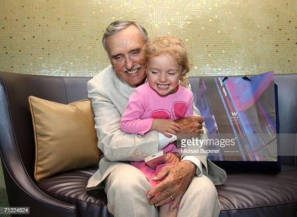 Actor and Chair of the Creative Advisory Board Dennis Hopper and his daughter Galen Grier Hopper pose with W Hotels at the CineVegas film festival...
