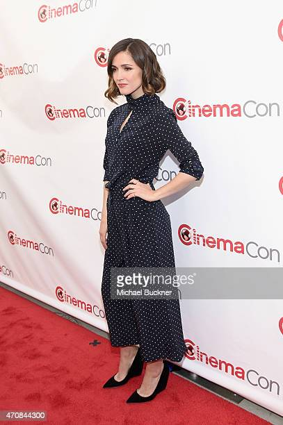 Actor and CinemaCon Female Star of the Year Award recipient Rose Byrne attends 20th Century Fox Invites You to a Special Presentation Highlighting...