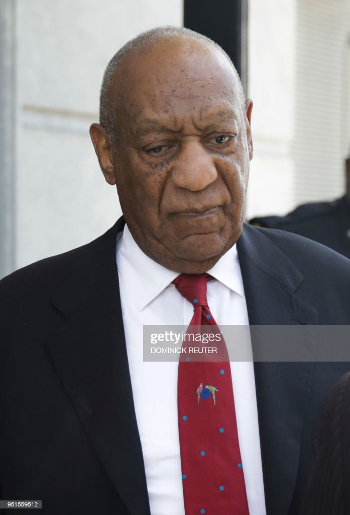 US-COSBY-ENTERTAINMENT-TELEVISION-CRIME-COURT : News Photo