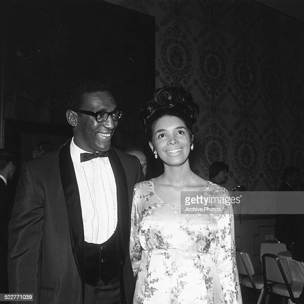 Actor and comedian Bill Crosby and his wife Camille Hanks attending the annual Screen Producer's Awards at the Beverly Hilton Hotel California March...