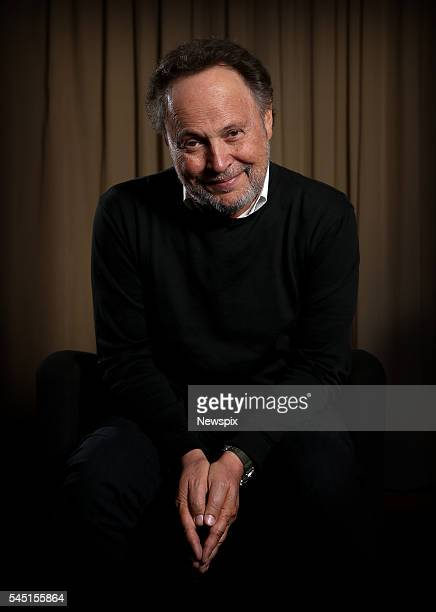 Actor and comedian Billy Crystal poses during a photo shoot in Sydney New South Wales