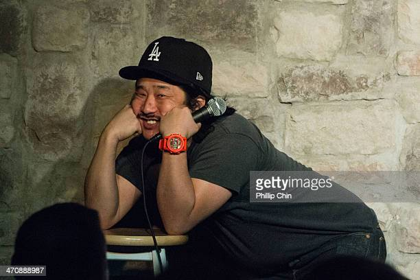 Actor and comedian Bobby Lee performs at Yuk Yuk's Vancouver for the 2014 Northwest Comedy Fest on February 20 2014 in Vancouver Canada